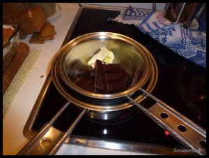 Chocolate al baño María