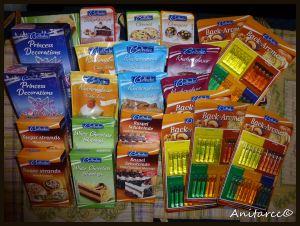 Productos de repostería del Lidl