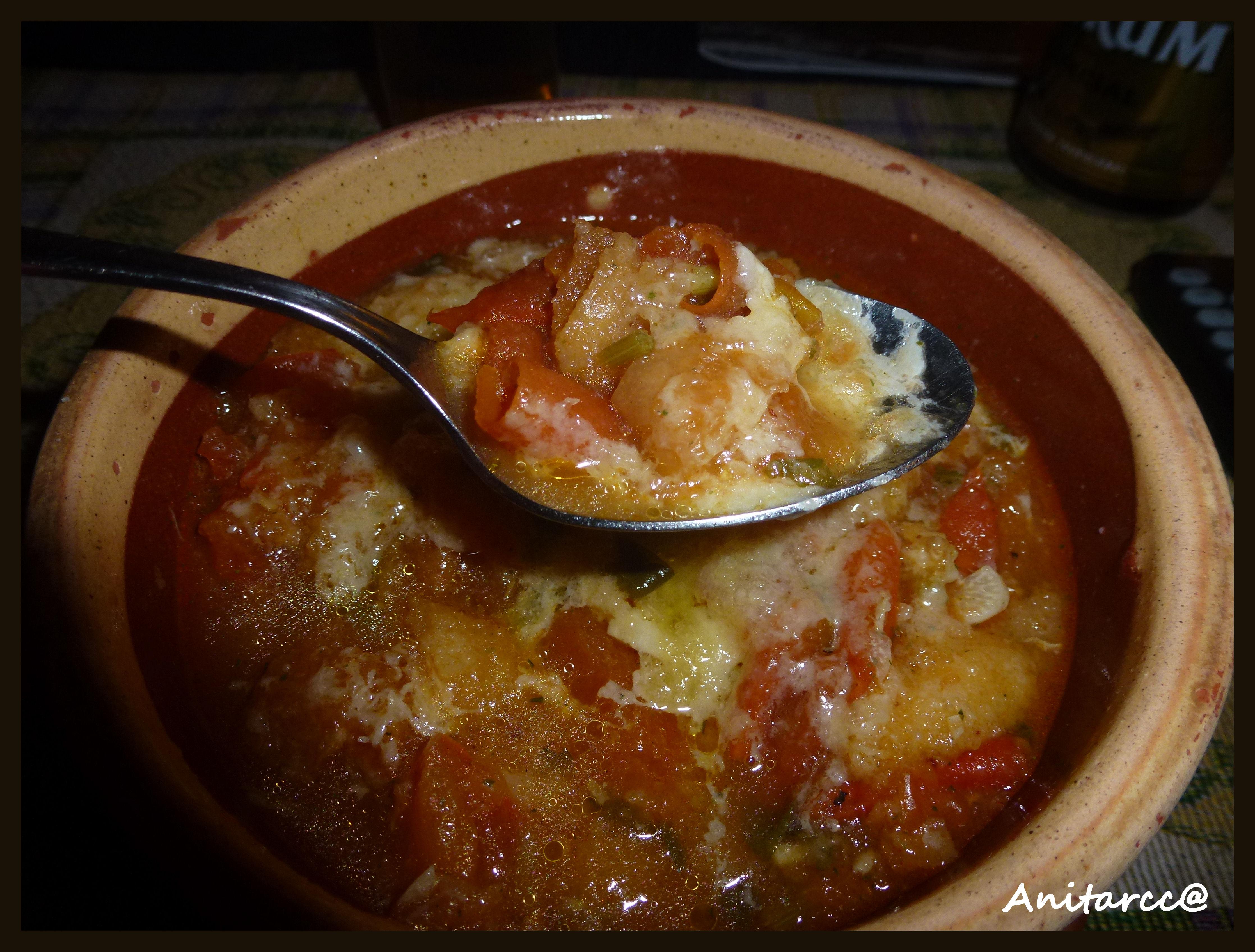 De cenar una sopa de tomate facil sima de hacer el for Que hacer de cenar