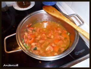 Dejamos hervir la sopa