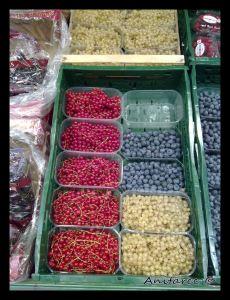 Frutas del bosque alemanas